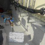 受水槽 配管作業